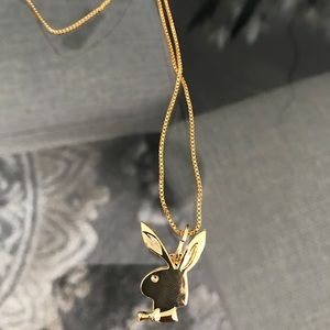 Other - Supreme PlayBoy Gold Chain/Necklace